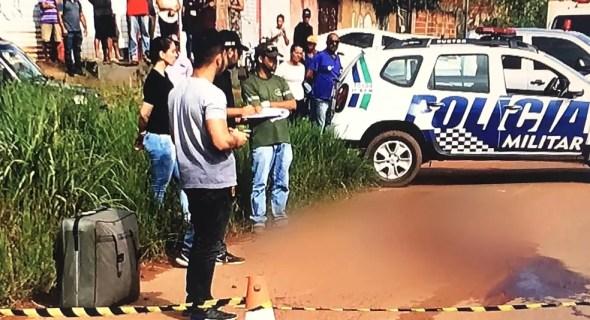 Heloá Jade da Silva Santos é morta com um tiro em Águas Lindas de Goiás — Foto: Reprodução/ TV Anhanguera