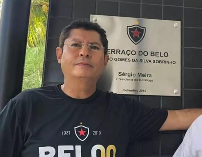Alcedo Gomes é o candidato à presidência do CD pela oposição — Foto: Divulgação