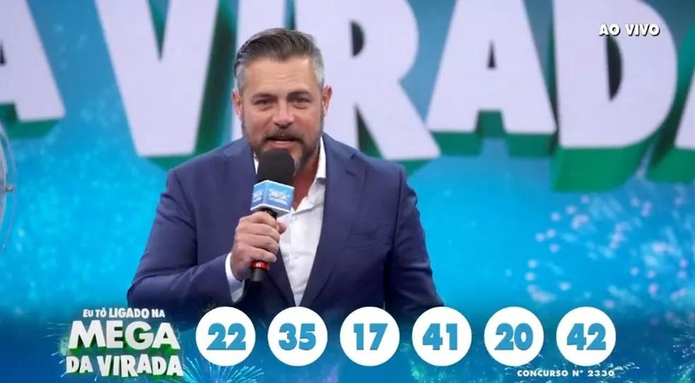 Mega da Virada — Foto: Reprodução/TV Globo