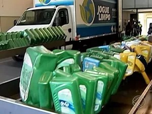 projeto jogue limpo uberlândia (Foto: Reprodução/TV Integração)