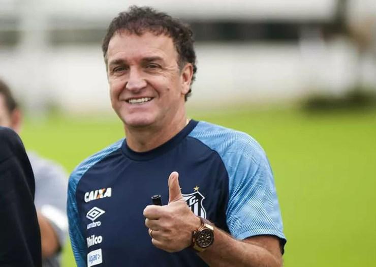 Cuca, técnico do Santos (Foto: Ivan Storti / Divulgação Santos FC)