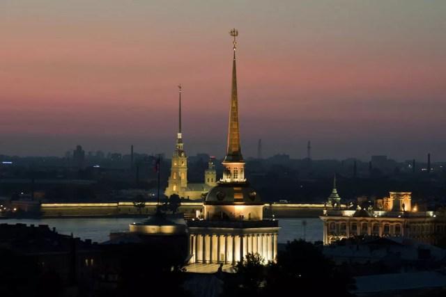 Fortaleza de São Pedro e São Paulo na cidade de São Petersburgo (Foto: Wikimedia/Ли [A.I.I.P.])
