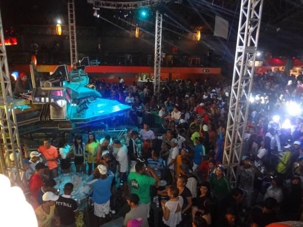"""Festa da aparelhagem """"Super Pop"""", em Belém (Foto: Gil Sóter/G1)"""