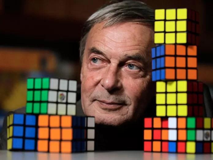Ernő Rubik criou o Cubo Mágico em 1974 (Foto: Reprodução/HNKC News) (Foto: Ernő Rubik criou o Cubo Mágico em 1974 (Foto: Reprodução/HNKC News))