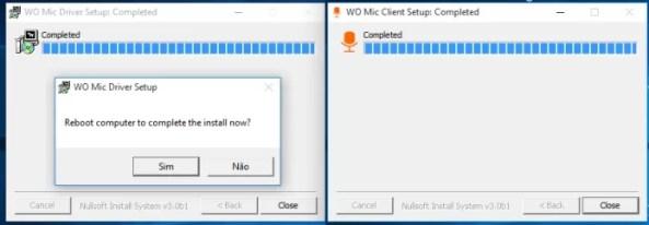 Instalando os drivers e o app WO Mic no Windows (Foto: Reprodução/Edivaldo Brito)