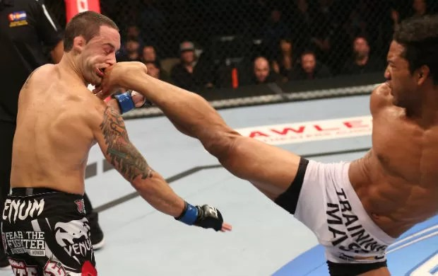 Ben Henderson vence Frankie Edgar no UFC 150 (Foto: Getty Images)