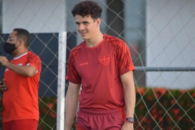 Régis disputou 20 jogos pelo CRB  — Foto: Maxwell Oliveira/Ascom CRB