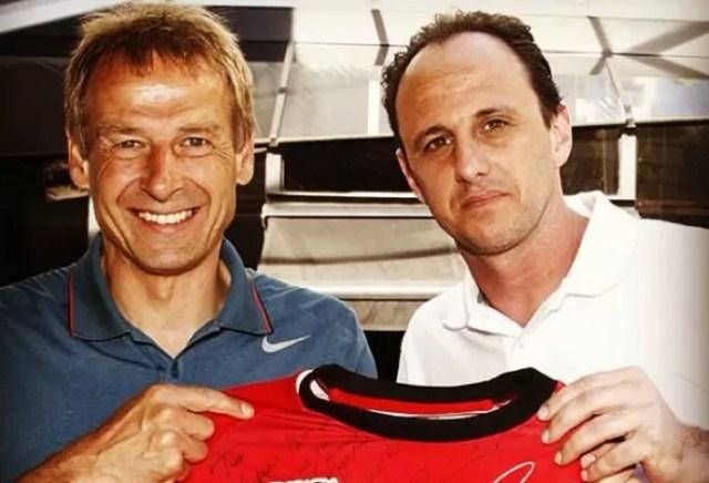 Klinsmann tira foto com Rogério Ceni, EUA (Foto: Reprodução Instagram)
