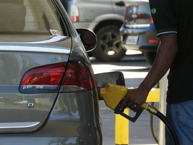 Posto de gasolina em Manaus (Foto: Adneison Severiano/G1 AM)