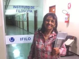 Aurora Ferreira Enem Uberlândia (Foto: Márcia Cristina/Arquivo Pessoal)