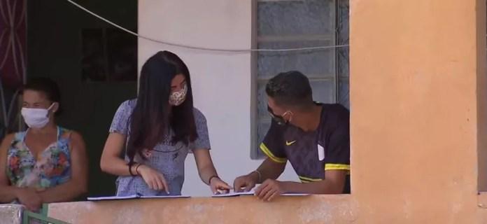 Alunos da rede estadual de Minas têm aulas remotas desde  — Foto: TV Globo