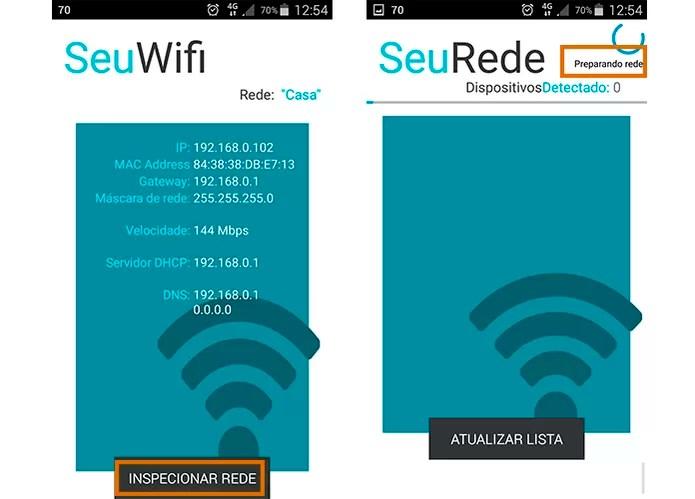 Inicie a análise da rede Wi-Fi para detectar todos os dispositivos conectados (Foto: Reprodução/Barbara Mannara)