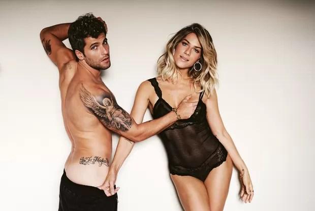 Giovanna Ewbank e Bruno Gagliasso (Foto: Daniel Aratangy / Revistas Trip/Tpm)