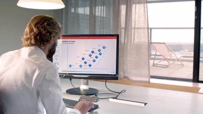 O Ockel Sirius A pode ser conectar a um monitor via HDMI (Foto: Reprodução/Indiegogo)