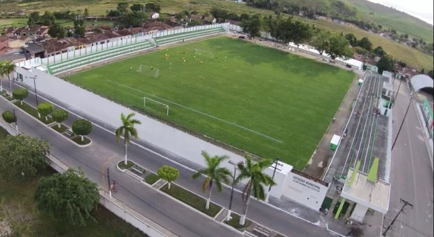 Estádio José Gomes da Costa, em Murici — Foto: Jailson Colácio/Assessoria Murici