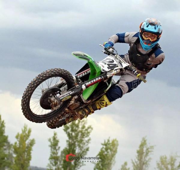 Argentine motocross rider Alberto 'Wey' Zapata (Photo: instagram reproduction)