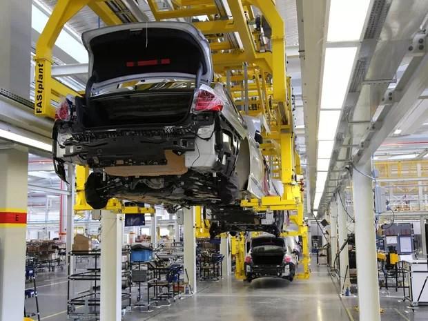 BMW inaugura fábrica em Araquari (Foto: Divulgação)