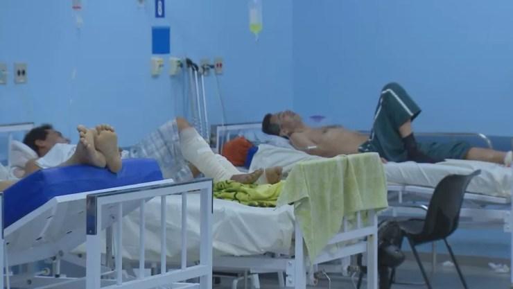 Essa é segunda a maior fila de espera por vaga em hospital (Foto: TV TEM / Reprodução )