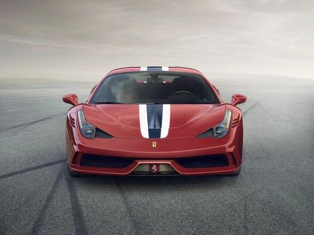 Ferrari 458 Italia Speciale pesa apenas 1.290 kg (Foto: Divulgação)