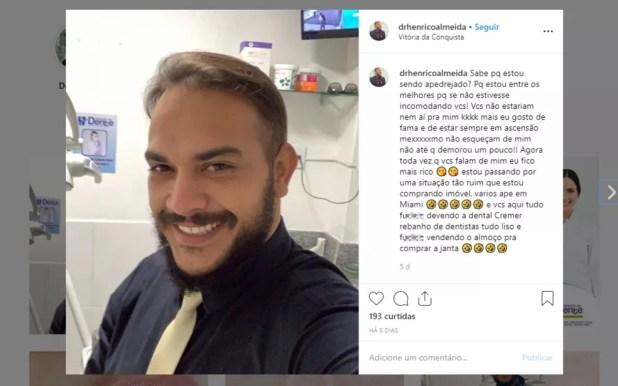 dentista0 Vítima de falso dentista investigado na BA teve nove dentes extraídos de uma vez após se queixar de dor em um deles