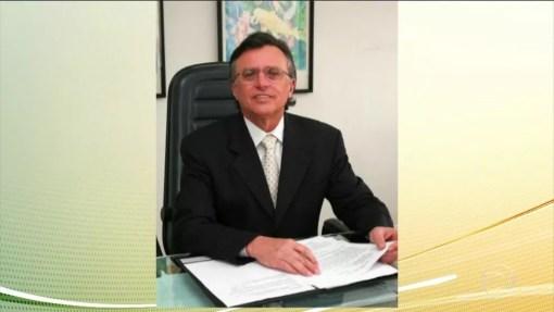 Francisco Barros, desembargador aposentado, foi preso em Natal nesta quarta-feira (31) (Foto: Reprodução/Jornal Hoje)
