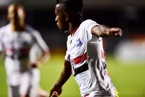 Kelvin São Paulo Trujillanos Libertadores (Foto: Marcos Ribolli)
