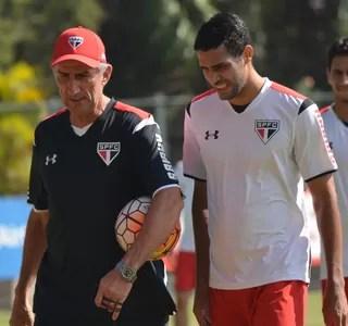 Edgardo Bauza Alan Kardec São Paulo (Foto: Érico Leonan/saopaulofc.net)