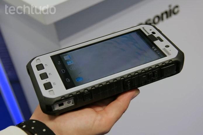 Versão com Android (Foto: Isadora Díaz/TechTudo)