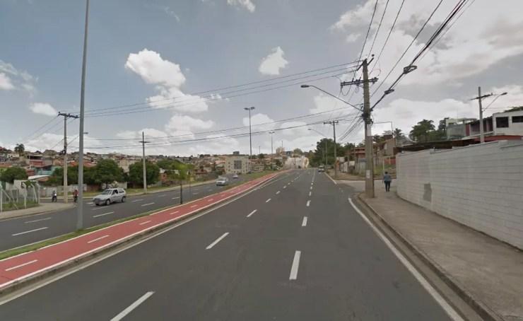 Acidente aconteceu na Rua José Joaquim de Lacerda em Sorocaba (SP)  (Foto: Google Street View/Reprodução)
