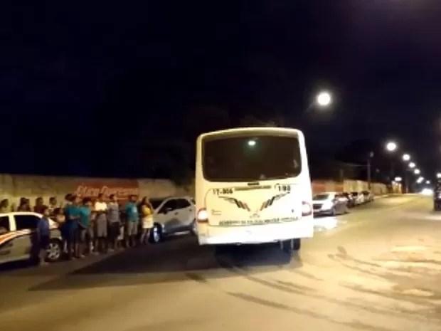Mais de 100 pessoas foram detidas em festa de facção, em São Luís (MA) (Foto: Biaman Prado / O Estado)