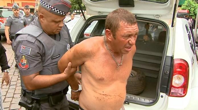 Márcio Roberto Búfalo, de 45 anos, foi condenado por morte de estudante em ponto de ônibus em Ribeirão Preto — Foto: Reprodução/EPTV