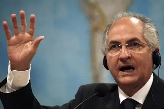 O prefeito de Caracas, Antonio Ledezma (Foto: Roberto Jayme/Reuters)