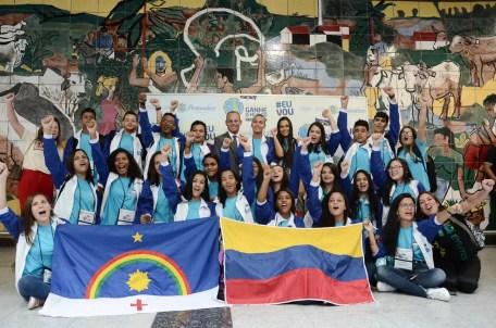 Programa Ganhe o Mundo leva estudantes de escolas estaduais de Pernambuco para intercâmbio — Foto: Gil Menezes/Secretaria de Educação de Pernambuco/Divulgação