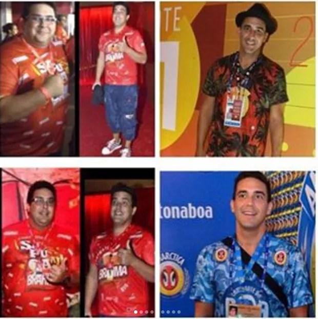André Marques mostra mudanças no corpo após perder 75kg (Foto: Reprodução/Instagram)