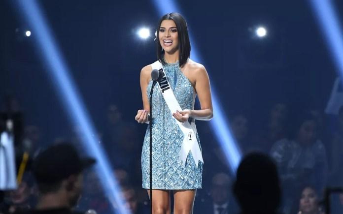 Miss Brasil Julia Horta esteve entre as 20 mais bonitas no Miss Universo 2019 — Foto: GETTY IMAGES / AFP Photo