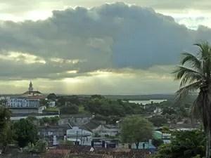 Cidade de João Pessoa nasceu às margens do Rio Sanhauá (Foto: Juliana Brito/G1)