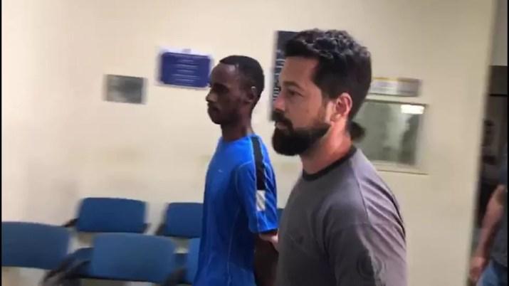 Leonardo Nascimento foi preso injustamente; família ajudou a provar a inocência — Foto: Reprodução/TV Globo
