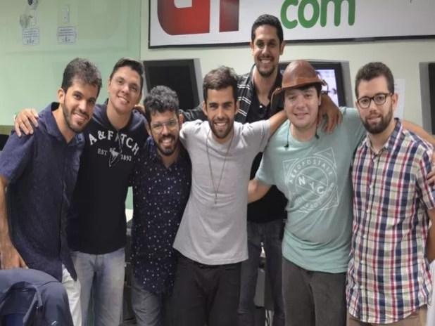 Banda 'Os Gonzagas' se apresenta, pela primeira vez em Aracaju (Foto: Demétrius Oliveira / G1)