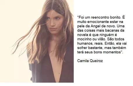 Camila Queiroz will return to live the protagonist, Angel Reproduction