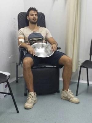 O ator ainda permanece internado na UPA de Cascatinha, na região serrana do Rio de Janeiro (Foto: Acyr Méra Júnior/ Época)