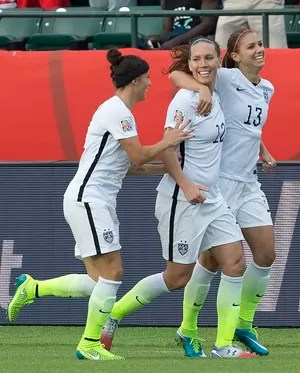 f0bfab45685ed Alex Morgan gol Estados Unidos (Foto  Jason Franson The Canadian Press via  AP