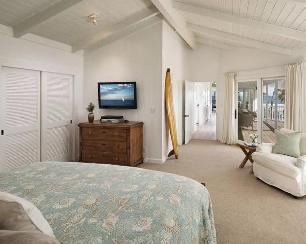 Casa de praia de Ashton Kutcher e Mila Kunis em Santa Bárbara, na Califórnia (Foto: Reprodução/Trulia)