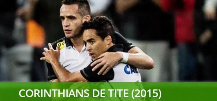 Melhores times brasileiro do século Corinthians 2015 — Foto: Info esporte
