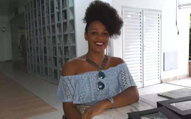 Josy Brasil se candidatou para concorrer ao Deusa do Ébano, na Bahia — Foto: Maiana Belo/G1 BA
