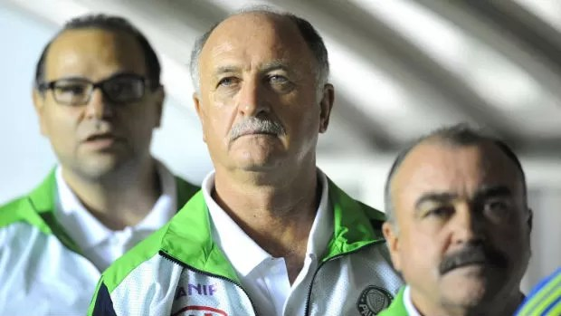 Felipão Murtosa Rubens Sampaio (Foto: Marcos Ribolli / globoesporte.com)