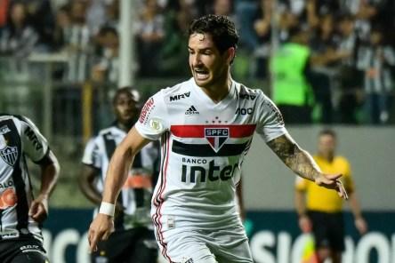 Alexandre Pato fez os dois únicos gols do São Paulo nos últimos sete jogos — Foto: Gledson Tavares / Estadão Conteúdo