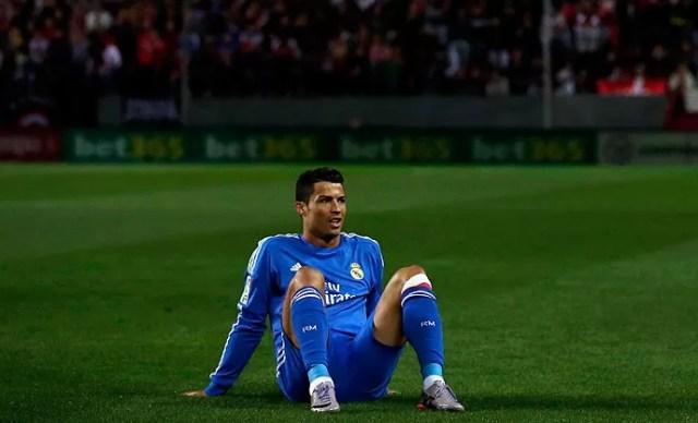 Cristiano Ronaldo Real madrid e sevilla (Foto: Agência Reuters)