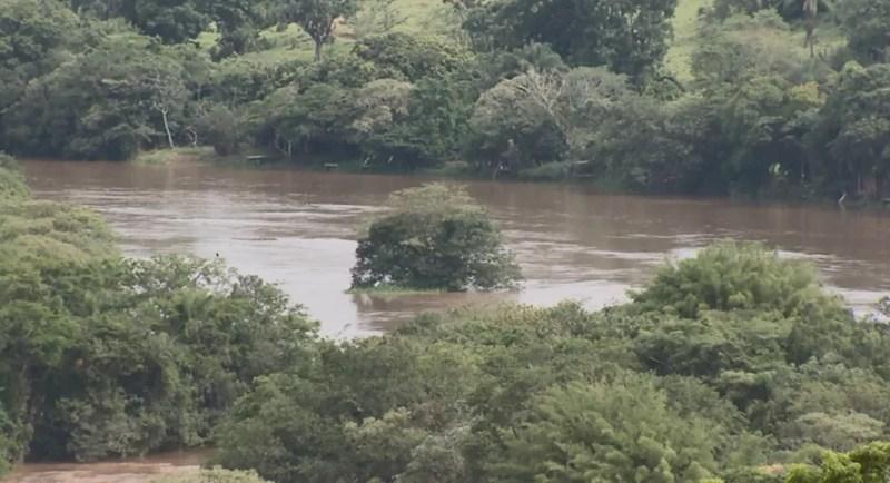 Projeto prevê criação de PCH no Rio Sapucaí, em Paraguaçu — Foto: Reprodução EPTV