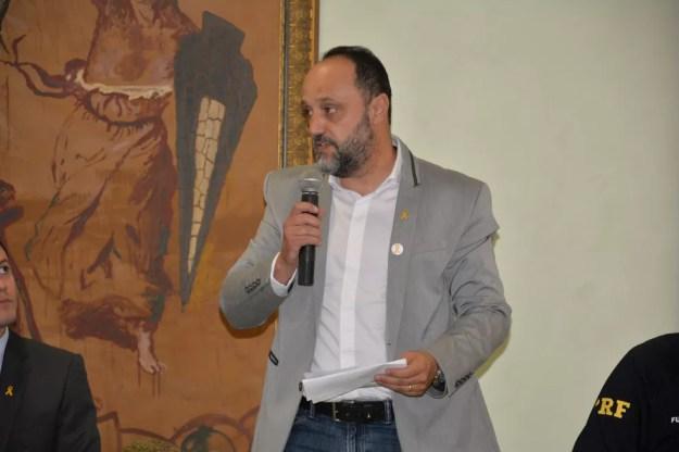 O ex-diretor-geral do Detran-PR Marcello Panizzi é um dos alvos da operação — Foto: Divulgação/Detran-PR