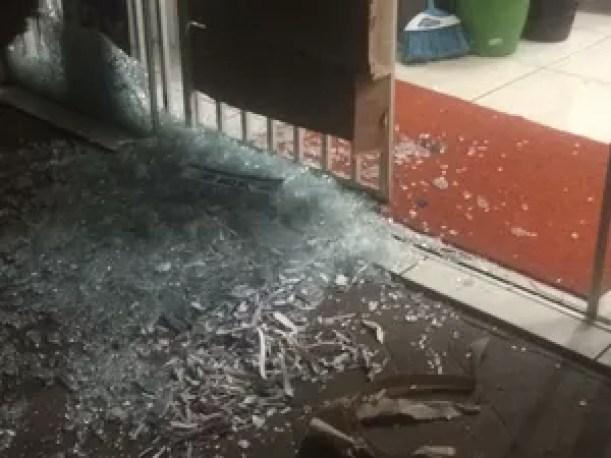 Suspeitos de crime fugiram e atiraram em vários pontos da cidade de Guaraí (Foto: Divulgação)